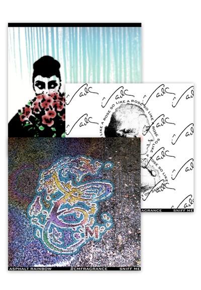 Asphalt Rainbow Scratch & Sniff Sticker Set   by Charenton Macerations