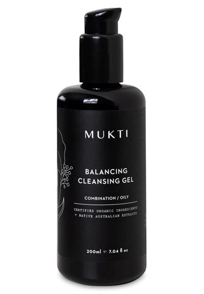 Balancing Cleansing Gel Face Cleanser  by Mukti Organics