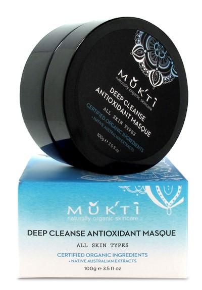 Antioxidant Deep Cleanse Masque Organic Face Masque  by Mukti Organics
