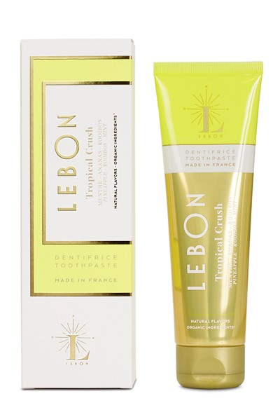 Tropical Crush  Pineapple Rooibos Mint Toothpaste  by Lebon