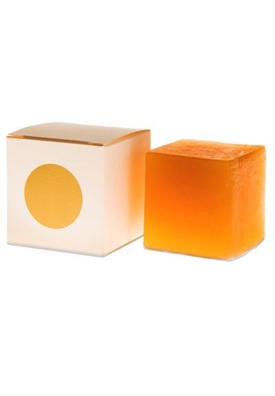 Hiba Wood Cube Soap   by GOLDA