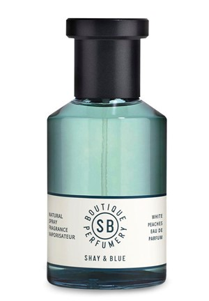 White Peaches Eau de Parfum by Shay & Blue