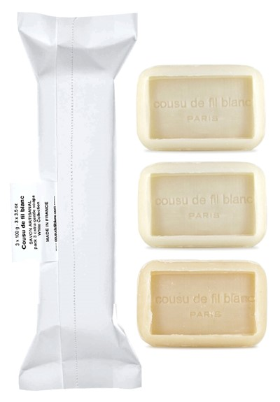 Collection Blanche 3-Pack  Bar Soap  by Cousu de Fil Blanc