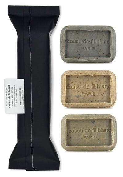 Collection Noir 3-Pack Bar Soap  by Cousu de Fil Blanc