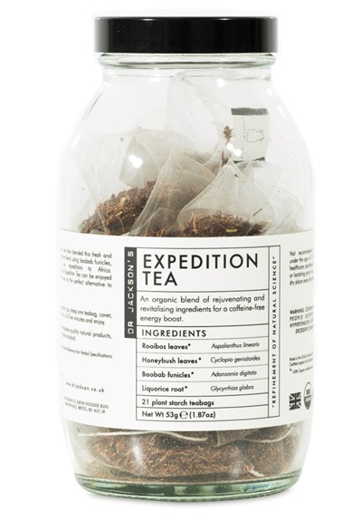 Expedition Tea- Sachet  Bagged Sachet Tea  by Dr. Jackson's