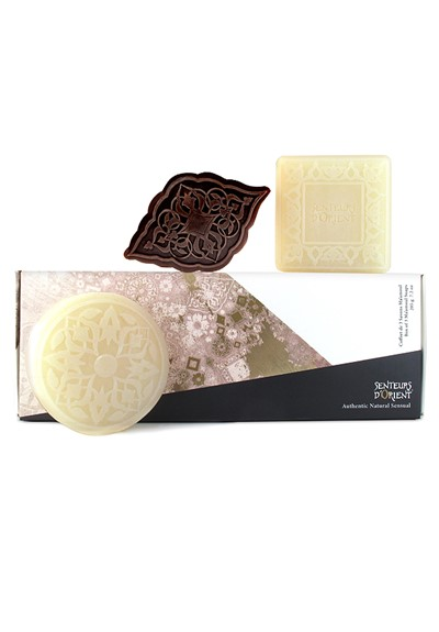 Ma'amoul Soaps Box Set  Scented Soap Collection  by Senteurs D'Orient