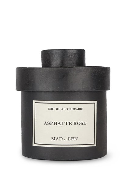 Asphalte Rose Candle Scented Candle  by Mad et Len
