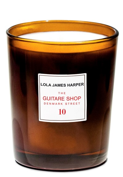 The Guitare Shop on Denmark Street Candle  Scented Candle  by Lola James Harper