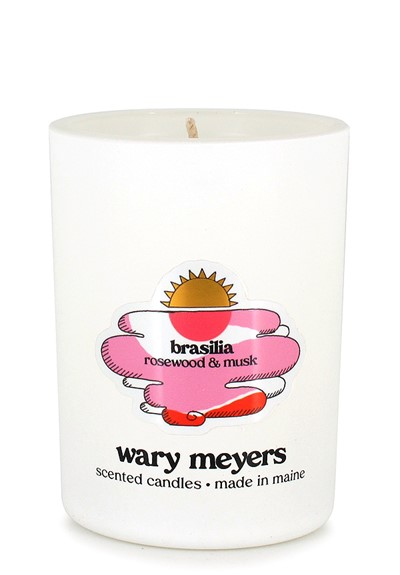 Brasilia candle  Scented Candle  by Wary Meyers