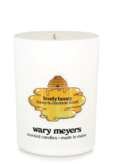 Lovely, Honey candle  Scented Candle  by Wary Meyers