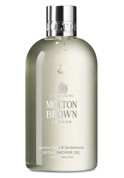 Serene Coco & Sandalwood Bath & Shower Gel Body Wash  by Molton Brown