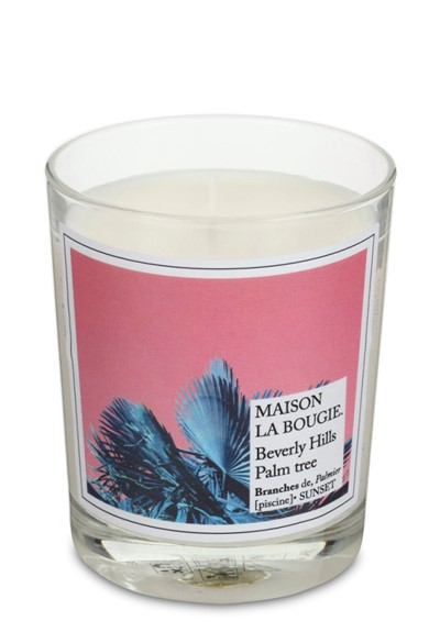 Beverly Hills Palm Tree Candle  Scented Candle  by Maison La Bougie