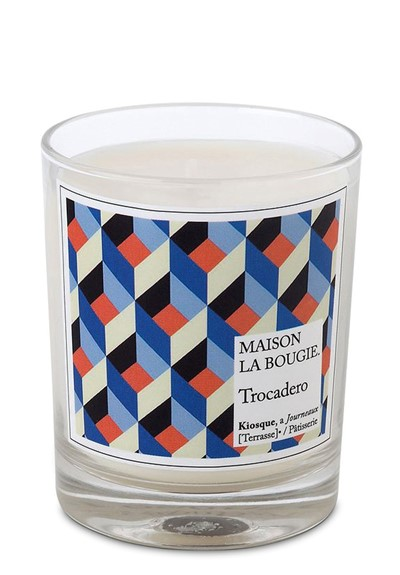 Trocadero Candle Scented Candle  by Maison La Bougie