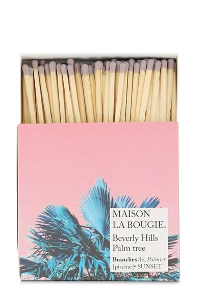 Beverly Hills Palm Tree Matches Matches  by Maison La Bougie