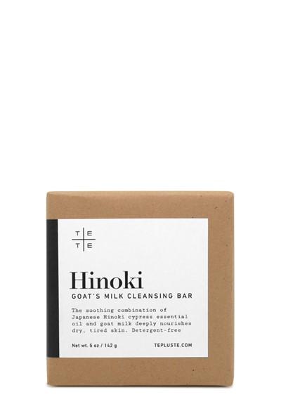 Hinoki Goat's Milk Cleansing Bar Bar Soap  by Te plus Te