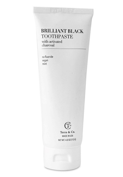 Brilliant Black Toothpaste  Toothpaste  by Terra & Co.