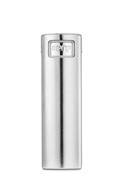 Steel Brushed Travel Atomizer  Refillable Travel Atomizer  by Sen7 Atomizers