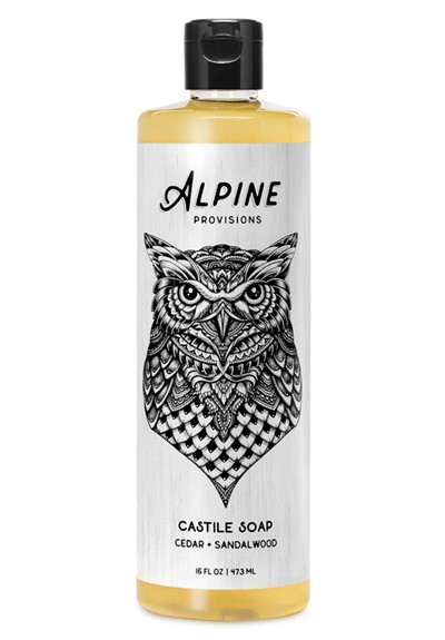 Cedar + Sandalwood Castile Soap  Liquid Soap  by Alpine Provisions