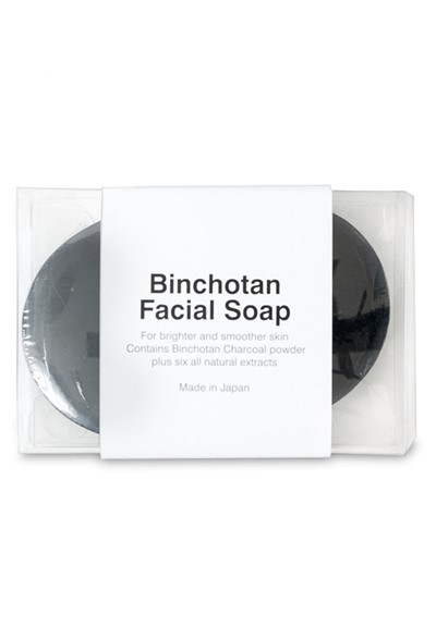 Binchotan Charcoal Facial Soap  Bar Soap  by Morihata
