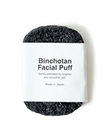Binchotan Charcoal Facial Puff by Morihata