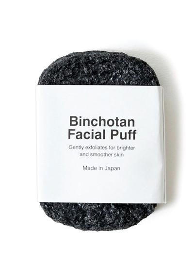 Binchotan Charcoal Facial Puff Facial Sponge  by Morihata