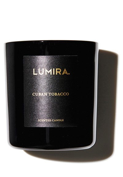 Cuban Tabacco  Scented Candle  by Lumira