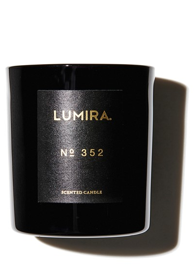 No. 352 - Leather and Cedar  Scented Candle  by Lumira