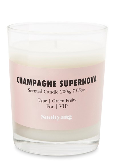 Champagne Supernova Scented Candle  by Soohyang