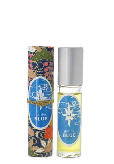 Geisha Blue roll-on  perfume oil  by Aroma M