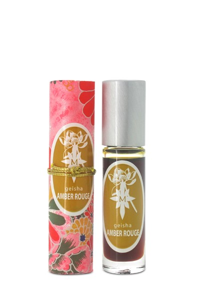 Geisha Amber Rouge roll-on Perfume Oil  by Aroma M