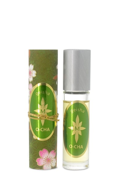 Geisha O-Cha roll-on Perfume Oil Roll-on  by Aroma M