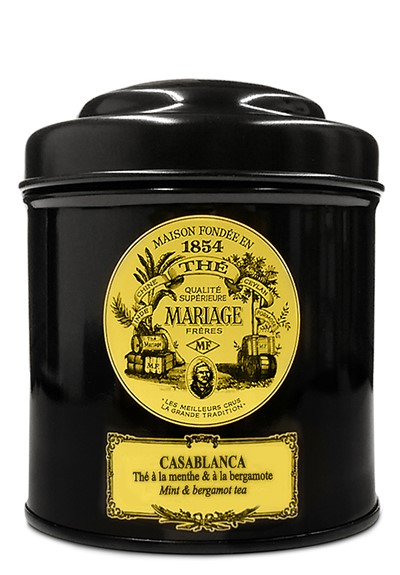Casablanca Black and Green Tea Blend - Loose Leaf  by Mariage Freres