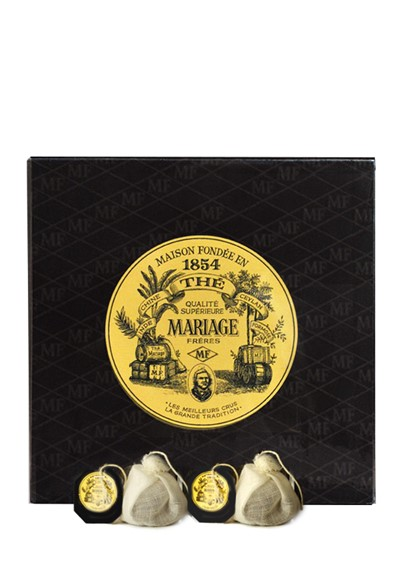 Casablanca  Black and Green Tea Blend - Sachet  by Mariage Freres