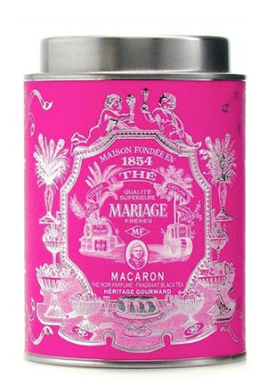 The Macaron - Heritage Gourmand Black Tea - Loose Leaf by Mariage Freres