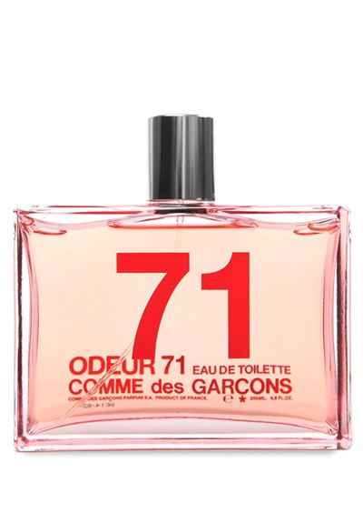 odeur 71 eau de toilette by comme des garcons luckyscent. Black Bedroom Furniture Sets. Home Design Ideas