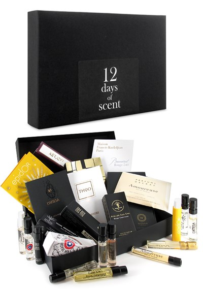 12 Days of Scent - Sampler Gift Box   by Luckyscent Gifts With Purchase