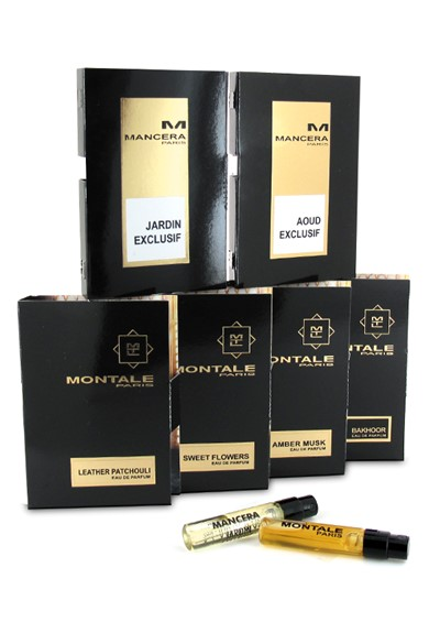 6-piece Mancera and Montale sampler   by Luckyscent Gifts With Purchase