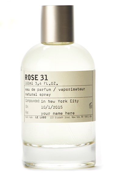 Rose 31 eau de parfum by le labo luckyscent - Rose 31 shower gel ...