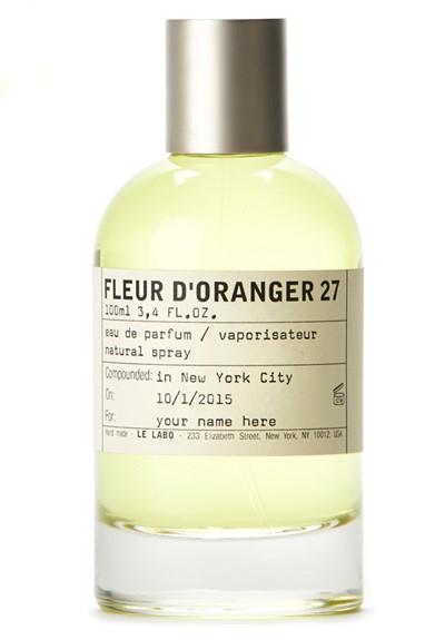 fleur d 39 oranger 27 eau de parfum by le labo luckyscent. Black Bedroom Furniture Sets. Home Design Ideas
