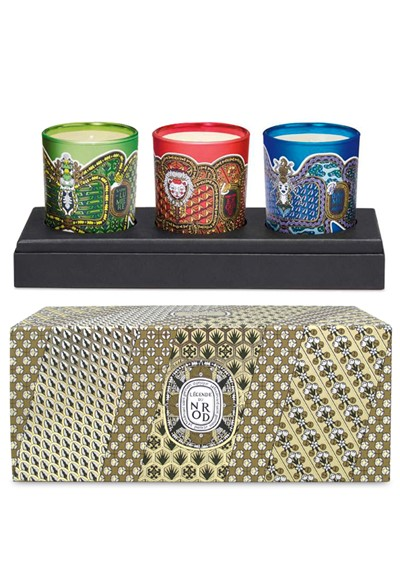 Legende du Nord Mini Holiday Candle Collection  Scented Candle Gift Set  by Diptyque