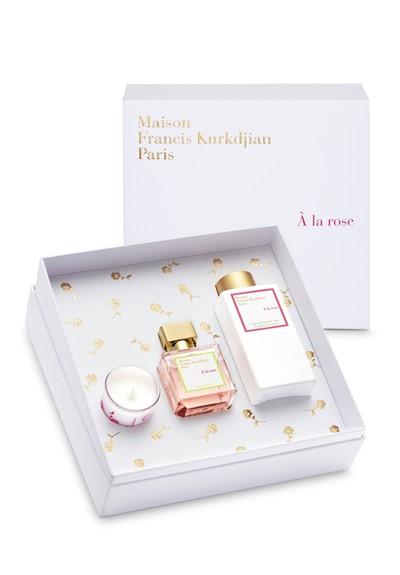 A la rose gift set gift set by maison francis kurkdjian for A la rose maison francis kurkdjian