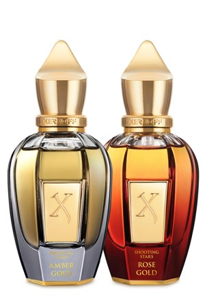 XJ Amber Gold & Rose Gold Collection Eau de Parfum by Xerjoff