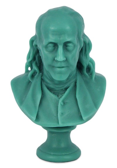 Benjamin Franklin Wax Bust   by Cire Trudon