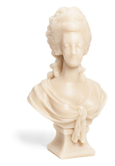Marie Antoinette Wax Bust - Stone   by Cire Trudon