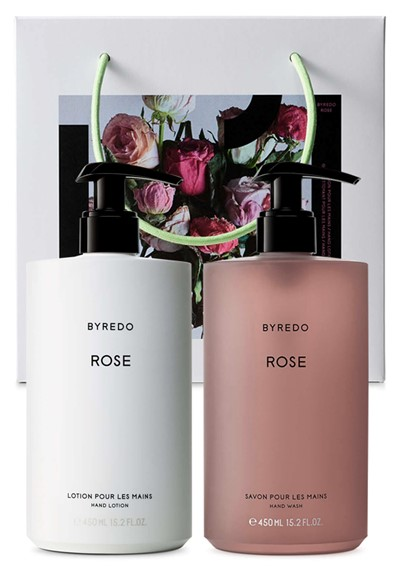 Rose Hand Care Gift Set  Lotion & Hand Wash Set  by BYREDO