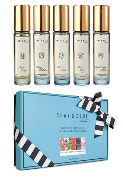 Precious Miniatures Set Perfume Discovery Set  by Shay & Blue