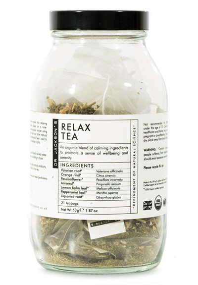 Relax Tea - Sachet  Bagged Sachet Tea  by Dr. Jackson's