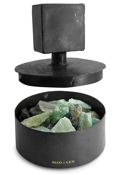 Totem Potpourri - Green Crystals   by Mad et Len