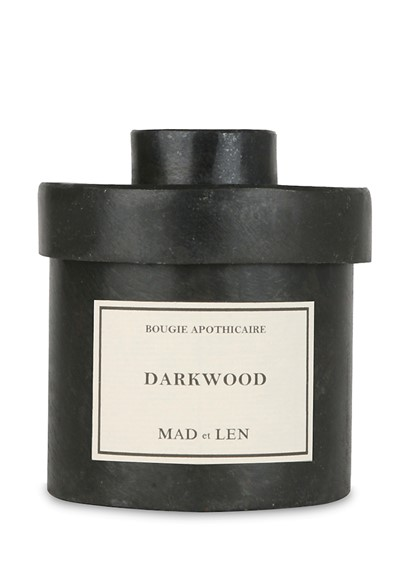 Darkwood Candle  Scented Candle  by Mad et Len