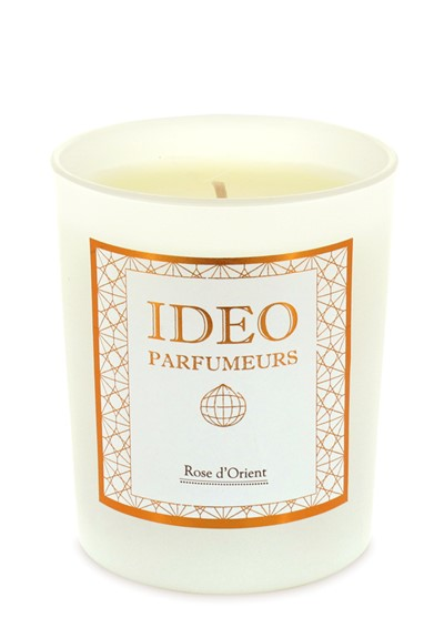 Rose d 39 orient scented candle by ideo parfumeurs luckyscent for Ideo products
